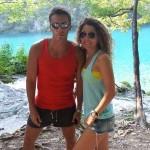 Carmen Bruma si Mircea Badea, in vacanta, in Croatia